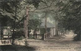 Yvelines : SAINT-GERMAIN-en-LAYE : La Forét - Dépendance Du Chateau Du Val ( Colorisée ) E L D - St. Germain En Laye
