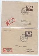 Drittes Reich , 2 Einschreiben , Braunes Band - Deutschland
