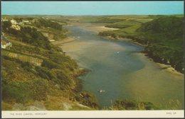 The River Gannel, Newquay, Cornwall, C.1960s - Jarrold Postcard - Newquay