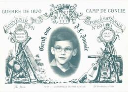 CPM* N°56 - JEAN LOUIS JOSSIC - CARTOPHILES DU PAYS NANTAIS - PASTICHE DE LA CARTE EDITEE PAR LEON BESMARDEAU EN 1870 - Nantes