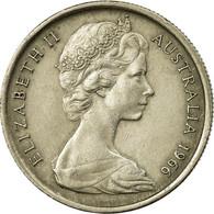 Monnaie, Australie, Elizabeth II, 5 Cents, 1966, TTB, Copper-nickel, KM:64 - Monnaie Pré-décimale (1910-1965)