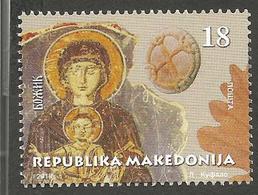 MK 2018-20 CHRISTMAS, MACEDONIA, 1 X 1v, MNH - Macédoine