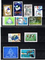 """1998 / Petit Lot 11 Timbres ** """" Journée Mondiale De La Poste """" , """" Journée Mondiale Du Timbre """" / A Voir !!! - U.P.U."""