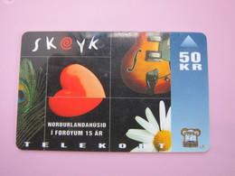 Magnetic Phonecard,festival - Faroe Islands