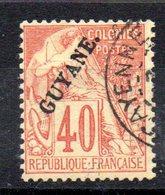 GUYANE - YT N° 26 Signé - Cote 150,00 € - French Guiana (1886-1949)