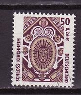Allemagne Fédérale - Germany - Deutschland 2001 Y&T N°2042 - Michel N°2210 (o) - 50p Château De Kirchheim - [7] République Fédérale