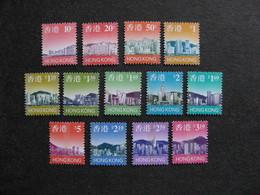 HONG-KONG:TB Série N° 818 Au N° 830, Neufs XX. - 1997-... Chinese Admnistrative Region