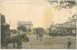 92.  RUEIL .  Station Des Tramways . - Rueil Malmaison