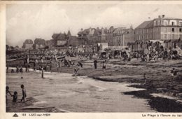 B53510 Luc Sur Mer - La Plage à L' Heure Du Bain - Luc Sur Mer