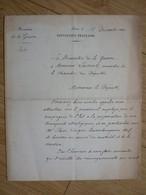 General BOULANGER Ls - Autographes