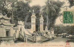 /!\ 8528 - CPA/CPSM - Asie  : Annam : Than-Hoa : Pagode, Près De Binh-Son - Vietnam