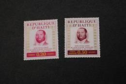 Haiti 690-91 Duvalier MNH 1974 A04s - Haiti