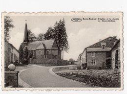 104 - BASSE-BODEUX  - L'église Et Le Chemin De Haute-Bodeux - Trois-Ponts
