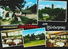 MBK Restaurant Zur Nürburg Am Nürburgring. NEU, 2 Scans, 14,8 X 10,5 Cm. Ca. 1971 - Deutschland