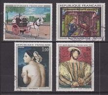 Douanier Rousseau: La Carriole, Vitrail De Troyes - FRANCE - Portrait De François 1er Par Clouet - Ingres - 1967 - Gebraucht