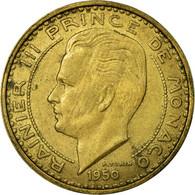 Monnaie, Monaco, Rainier III, 50 Francs, Cinquante, 1950, TB, Aluminum-Bronze - Monaco
