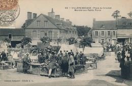 H237 - 14 - VILLERS-BOCAGE - Calvados - Place Du Crochet - Marché Aux Petits Porcs - Other Municipalities