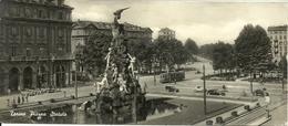Torino (Piemonte) Piazza Statuto E Monumento Al Frejus, La Place Statuto Et Le Monumento Au Frejus - Piazze