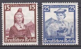 Ro_ Deutsches Reich - Mi.Nr. 594 + 595 - Postfrisch MNH - Ungebraucht