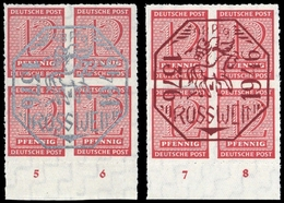 1946, Deutsche Lokalausgabe Rosswein, 1+2, ** - Deutschland