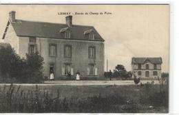1 Cpa Lessay - Entrée Du Champ De Foire - Sin Clasificación