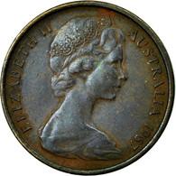 Monnaie, Australie, Elizabeth II, Cent, 1967, TB+, Bronze, KM:62 - Monnaie Décimale (1966-...)