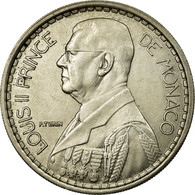 Monnaie, Monaco, Louis II, 20 Francs, Vingt, 1947, Poissy, SUP, Copper-nickel - 1922-1949 Louis II