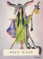 """Image MENIER N° 6 Par Jean Adrien MERCIER - Album """"Il était Une Fois"""" - Peau D'Âne - 1953 - TBE - Trade Cards"""