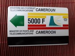 Phonecard Cameroun 5000 F Used Rare ! - Cameroon