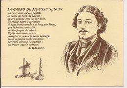 """L20J001 - Alphonse Daudet - """" La Cabra De Moussu Seguin"""" - Poëme En Provencal - Création Estello N°8311 - Ecrivains"""