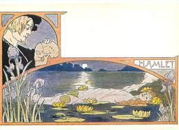 Illustrateur F Nugeron - Femme Art Nouveau Opera Hamlet   W 238 - Illustrateurs & Photographes