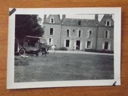 WW2 GUERRE 39 45 BRINON SUR SAULDRE CHATEAU LE COUDRAY SOLDATS ALLEMANDS OCCUPATION DU DOMAINE CANTON AUBIGNY SUR NERE - Brinon-sur-Sauldre