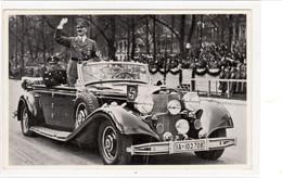 """Propaganda Karte, """" Der Führer Im Auto  """" - Weltkrieg 1939-45"""