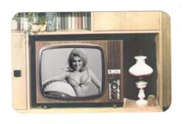 389 TV Advt Hungary 1970 Elektroimpex Budapest - Calendriers