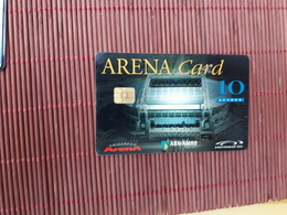 Arena Card Amsterdam Football Used  Rare - Pays-Bas