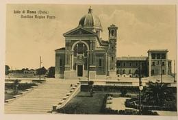 LIDO DI ROMA ( OSTIA ) BASILICA REGINA PACIS 1934  VIAGGIATA FP - Altri