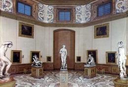 Firenze - Galleria Degli Uffizi - Sala Della Tribuna - Con La Venere Dè Medici - 167 - Formato Grande Non Viaggiata – E - Firenze