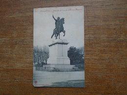 Montpellier , Statue De Louis XIV Au Peyron - Montpellier