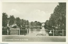 's-Gravendeel; Gezicht Op De Kreek - Gelopen. (A. De Vries & Zn., 's-Gravendeel) - Other