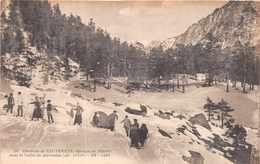 CAUTERETS  - Groupe De Skieurs Dans La Vallée De Marcadau - Cauterets