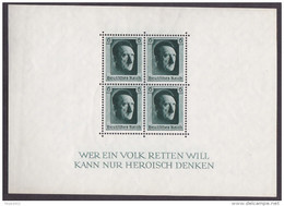 Ro_ Deutsches Reich - Mi.Nr. Block 7 - Postfrisch MNH - Blocks & Kleinbögen