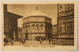 FIRENZE - BATTISTERO E LOGGIA DEL BIGALLO VIAGGIATA FP - Firenze