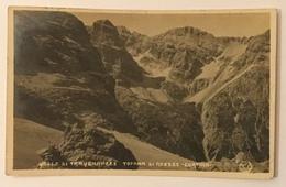 VALLE DI TRAVENANZES, TOFANA DI ROZZES CORTINA 1922 - VIAGGIATA FP - Belluno