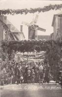 LES AIX D'ANGILLON - Carte Photo - Comice Agricole 24 Août 1924 ( Moulin - Les Aix-d'Angillon