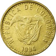 Monnaie, Colombie, 100 Pesos, 1994, TTB, Aluminum-Bronze, KM:285.1 - Colombie