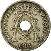 Monnaie, Belgique, 10 Centimes, 1921, TB, Copper-nickel, KM:85.1 - 1909-1934: Albert I