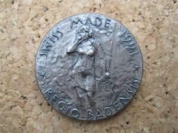 SWISS MADE 1991 REGIO BADENSIS - Jetons & Médailles