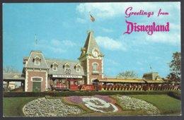 CP Greetings From Disneyland, Santa Fe Passenger Train - Disneyland