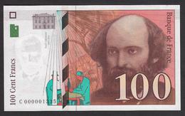 100 Francs Cézanne - Fay: 74/1 De 1997 En Neuf - Voir Descriptif - 1992-2000 Dernière Gamme