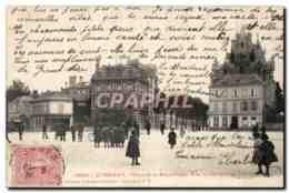 Epernay CPA Place De La Republique Rue Du Commerce - Epernay